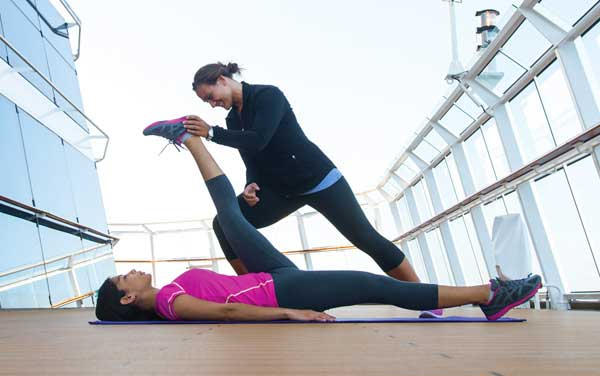Celebrity Infinity Spa & Fitness Vendor Experience