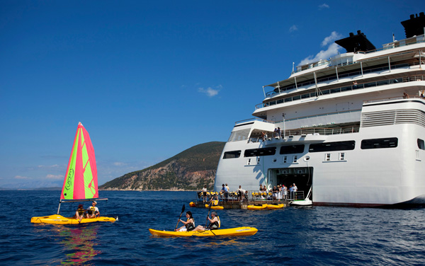 Seabourn Cruise Line-Onboard Activities