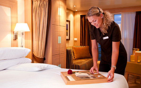 Seabourn Encore Service & Awards Vendor Experience