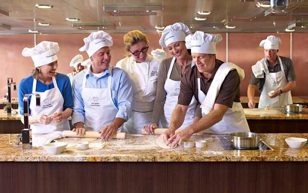 Oceania Cruises-Onboard Activities