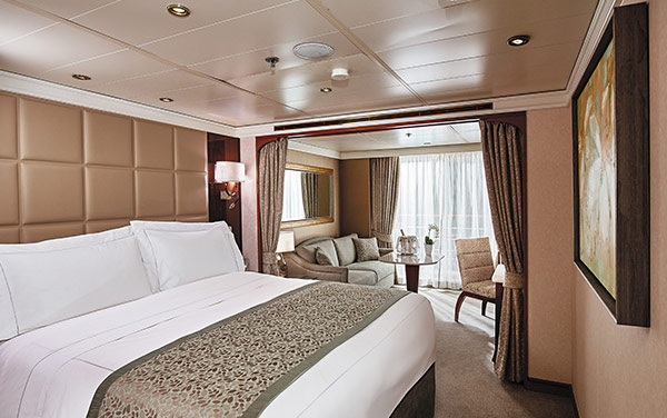 Seven Seas Splendor Staterooms Vendor Experience