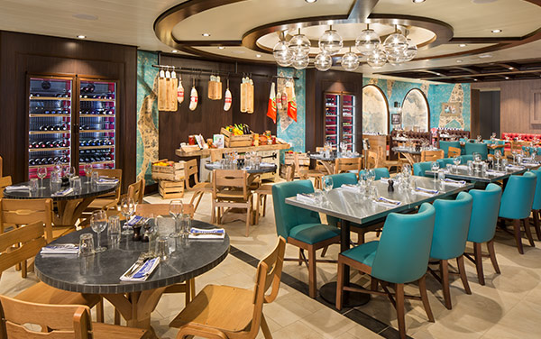 Spectrum Of The Seas Dining Vendor Experience