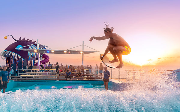 Spectrum Of The Seas Onboard Activities Vendor Experience