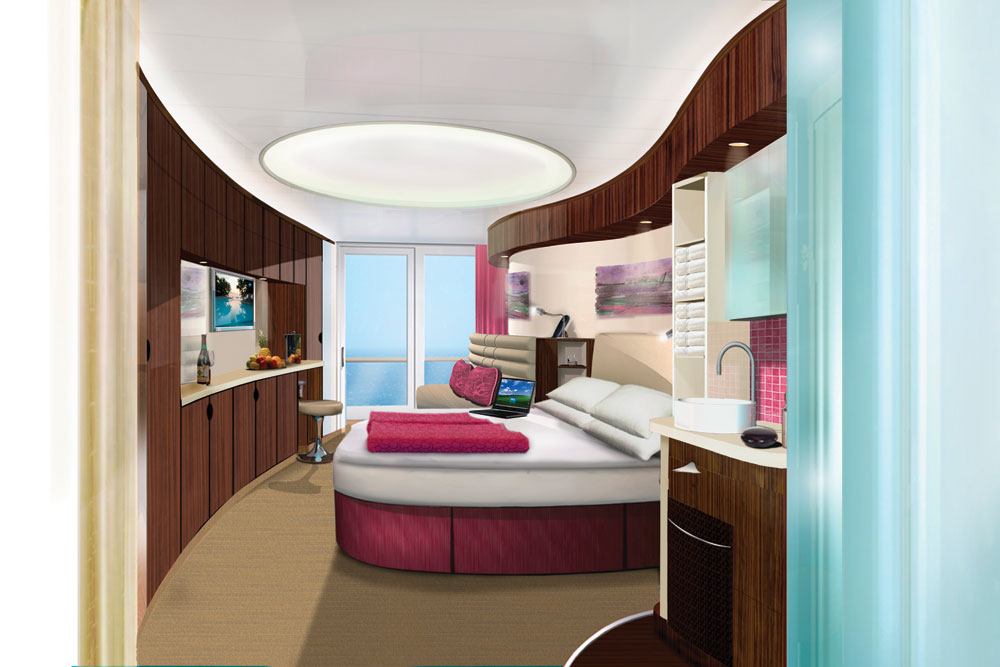 The name of ncl new f3 ship revealed norwegian epic the for Deluxe balcony