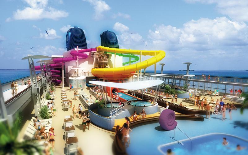 Big Ships Oasis Of The Seas Norwegian Epic The Cruise Web Blog - Norwegian epic cruise