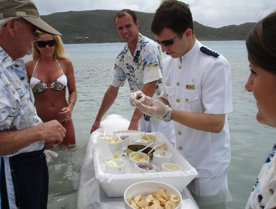 Caviar at Sea