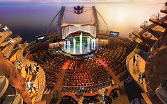 Oasis of the Seas theater interior