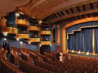 Cunard's Royal Court Theatre