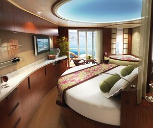 NCL Epic Spa Suite