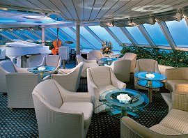 Seabourn's Observation Lounge