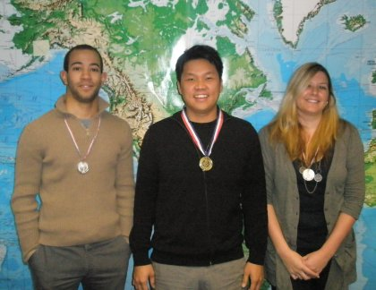 Client Services Medal Winners