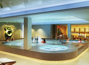 Norwegian Epic's Spa