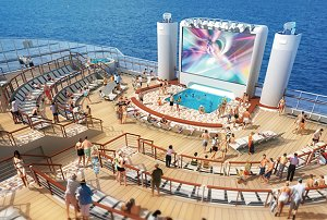 Norwegian Epic Outdoor Theater