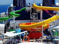 NCL Epic Water Slides