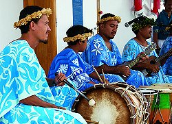 Polynesian Drummers