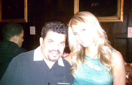 Courtney and Luis Guzman