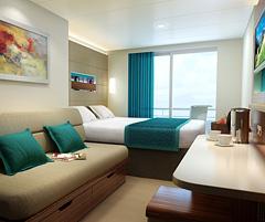 Ncl Unveils Balcony And Mini Suite Designs For Next