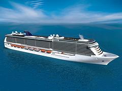 NCL Breakaway Ship Aerial