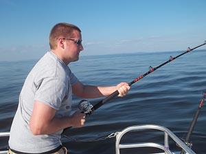 Cruise Consultant David F. reels in a big catch
