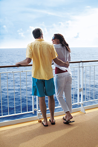 Couple on the Norwegian Epic courtesy of Norwegian Cruise Line