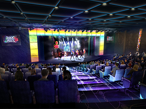 Rock of Ages Performed on the Norwegian Breakaway, courtesy of Norwegian Cruise Line