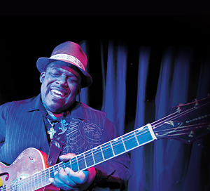 Slam Allen performs at the Fat Cats Jazz and Blues Club, courtesy of Norwegian Cruise Line