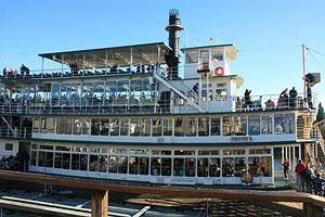 Stern Wheeler River Boat