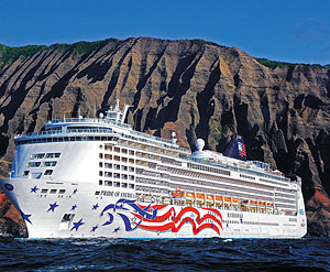 Pride of America courtesy of Norwegian Cruise Lines