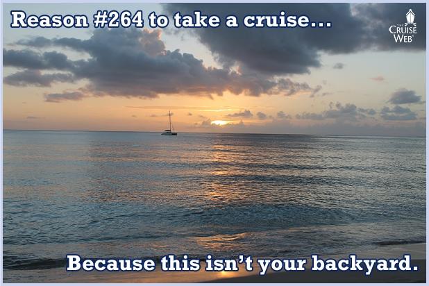 Reason#264 To take a cruise