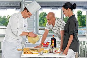 Baking Demonstration. Courtesy of Uniworld River Cruises.