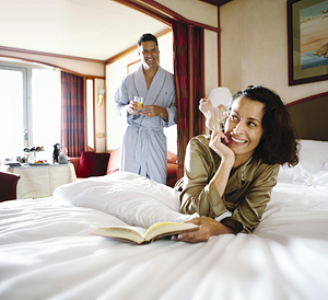 Enjoy breakfast in your suite. Photo courtesy of Silversea Cruises.