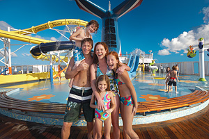 Fun in the Sun. Courtesy of Carnival Cruise Lines.