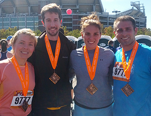Team Cruise Web for the 2012 Baltimore Running Festival