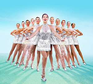 The Rockettes will christen the Norwegian Breakway