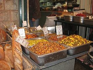 A market in Jerusalem