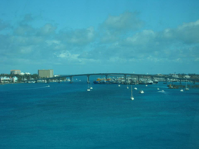 Thanksgiving on a cruise in the Bahamas