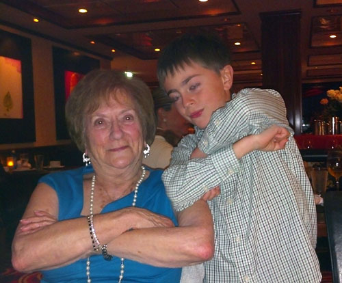 Dom and Grandma party like Norwegians.