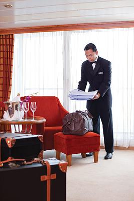 Butler - Photo courtesy of Regent Seven Seas Cruises