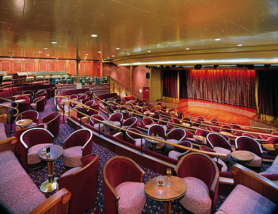 Silversea Theater - Photo courtesy of Silversea Cruises