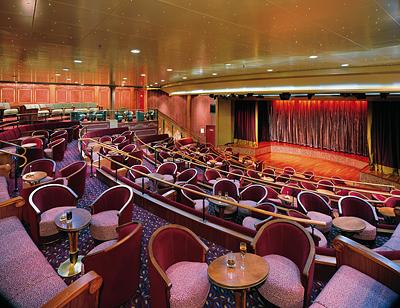 Silversea Theater - Photo courtesy of Silversea Cruises