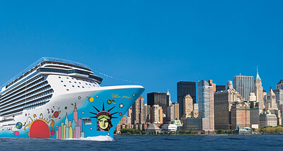 Breakaway Rendering - Photo courtesy of Norwegian Cruise Line