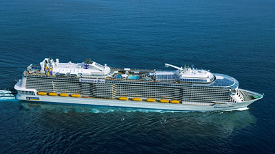Quantum of the Seas - Rendering courtesy of Royal Caribbean International