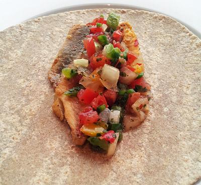 Celebrity Cruises' Fish Tacos