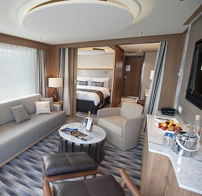 Explorer Suite on the Viking Aegir - Photo courtesy of Viking Cruises