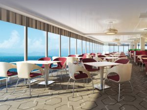 Garden Cafe on Norwegian Breakaway - Photo courtesy of Norwegian Cruise Line