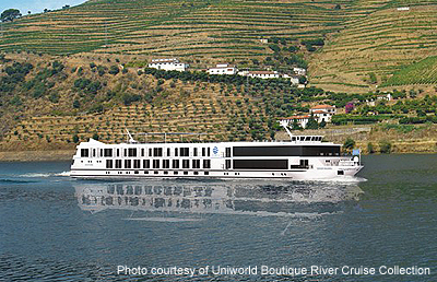 Rendering of the Queen Isabel - Photo Courtesy Uniworld Boutique River Cruise Collection