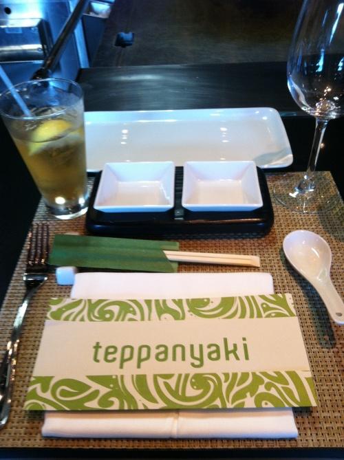 Teppanyaki Dinner Setting