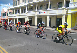 Sunday Bike Race in Hamilton, Bermuda