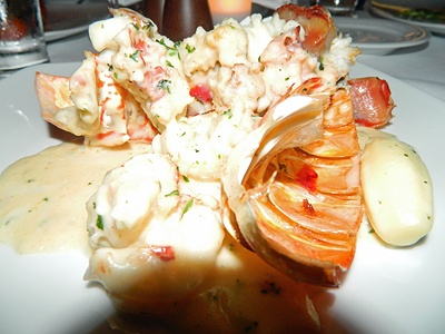 Lobster in all its glory.