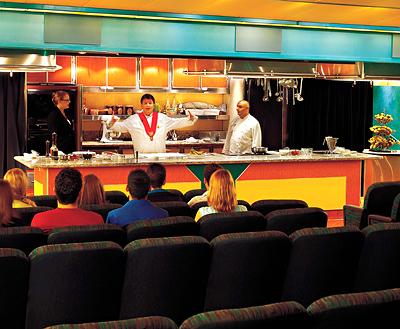 Culinary Arts Center on a Holland America ship - Photo courtesy of Holland America Line